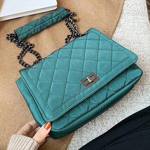 Luxuskette Umhängetasche Einfache Oxford Tuch Designer Frauen Handtasche Umhängetasche Berühmte Lingge Crossbody