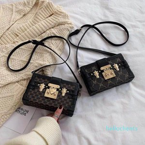 Wholesale clutch Box Handbags for women Evening Bags Excellent Quality Leather purse Fashion Box Brick Messenger lady Shoulder Bag