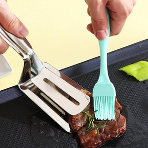 Tools & Accessories Heat Resistant Silicone Material Basting Pastry Brushes Spread Oil Butter For BBQ Grill Barbecue Baking Kitchen Cooking