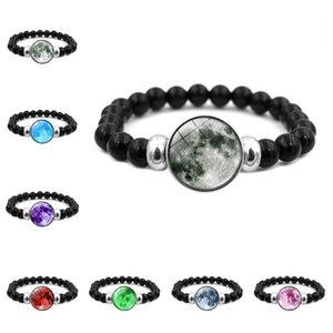Nuovi accessori Universe Moon Time Creative Elastic Elastic Bracciale in perline retrattile