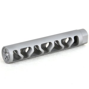 Inch Xtpi Bead Blast Stainless Steel Compensator Muzzle Brake with Crush Washer