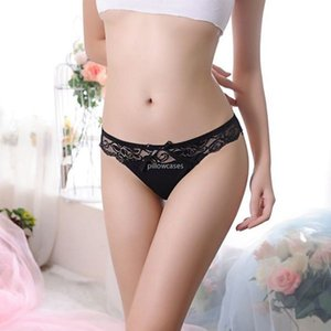 Lace See Through Floral Panties Briefs Bowknot Woman Lingeries Women Panties Thongs G Strings Underwears Women Clothes Fashion
