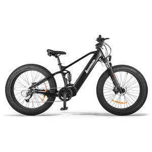Fat e Bike 750W Bafang Mid Drive Motor Electric Bicycle 14Ah Samsung Battery Bicicleta Electrica Adult Snow Beach ebike