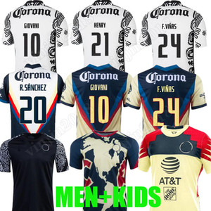 LIGA MX 21 22 club America Soccer Jerseys Leon Than Away Away 2021 2022 Camisetas Tigres Unam Chivas Cruz Azul 3rd Training T-shirt da calcio