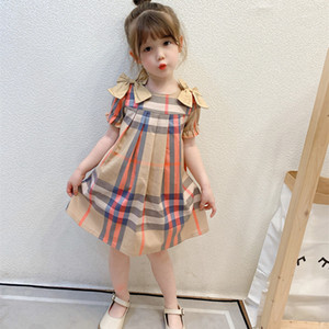 2021 New Very Beautiful Girls Dress Kids Toddler Girls Baby Kids Dress Summer Outfits Clothes Chlidren Dress