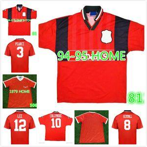Nottingham Forest 1994 Collymore Haaland Retro Soccer Jersey 94 95 Gemmill Bohinen Haaland Roy Stuart Pearce Classic Vintage Football Hemd