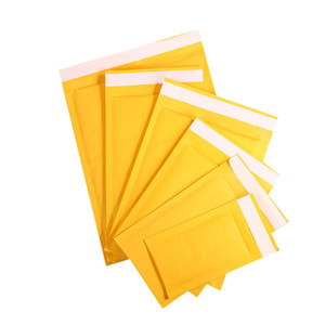 Many Sizes Kraft Bubble Mailers Envelopes Wrap Bags Padded Envelope Mail Packing Pouch F Security Courier Delivery Bags