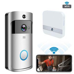 XVIM Smart Video Doorbell Camera WiFi IP Camera Ring Door Intercom Two Way Audio APP Control Night Vision Doorbell Doorphone