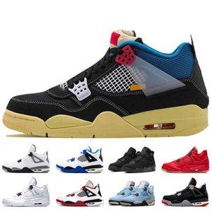 Scarpe sportive 4 Donne da donna Scarpe da basket 4s Thunder Cool Grey Sneakers Dimensioni 13 Black Cat Fire Bred Bred Sports Trainer