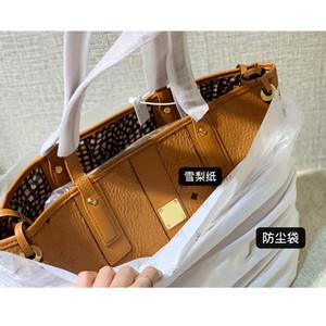 2021 مصمم فاخر أزياء المرأة رسالة سيدة كيس مركب مطبوعة جلد طبيعي حمل الأزياء حقيبة يد مكياج مع شعار برانج