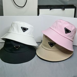2021 Bucket Hat Beanies Designer Sun Baseball Cap Men Women Outdoor Fashion Summer Beach Sunhat Fisherman's hats 4 colors X0903C