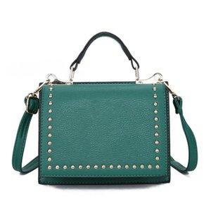 PU Leather Women Underarm Bag Retro Solid Color Ladies Baguette Handbags Fashion Design Girls Small Shoulder Bags