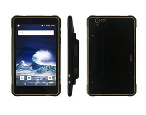 Tablet PC Rugged Android UHF RFID Reader 10m Qualcomm SD630 8 Inch 4GB RAM 64GB ROM 4G Lte Qr Code 1D 2D Barcode Scanner GPS