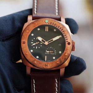 Erkek Saatler Otomatik İzle 47mm 316 Güzel Çelik Moda Adam İzle Mekanik Saatler Ücretsiz Kargo P-0123