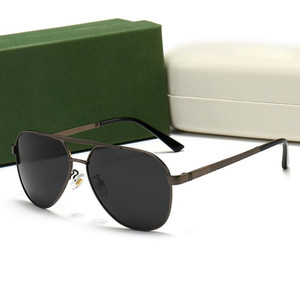 2021 Солнцезащитные очки Поляризованные Солнцезащитные очки для мужчин и женщин Вождение авиации Солнцезащитные очки анти отражающие поляроид WIHT Коробка