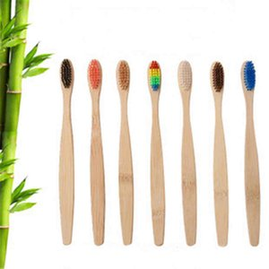 disposable toothbrush hot sale Hotel bamboo toothbrush soft bristled toothbrushs travel supplies bamboo charcoal toothbrush in stock