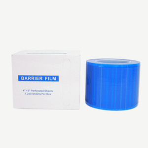 Dental material 1200P blue barrier film easy remove avoide cross infection disposable protective film protection Isolation filmR