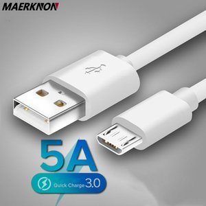 5A Micro USB Cable Fast Charging 1m 2m Data Sync Wire For Samsung S7 Huawei Xiaomi Note Tablet Android USB Phone Charger Cables