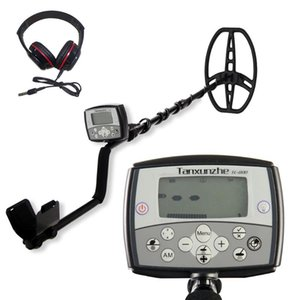 TC-800 11 Inch Search Coil Underground Metal Detector LCD Display Treasure Finder Portable High Sensitivity Metal Detector