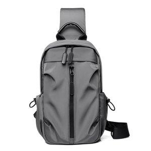 Сумки на ремне в стиле сундук мужская диагональная мода бизнес повседневная многофункциональный маленький рюкзак