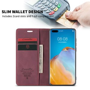 CaseMe 30 Flip Smart P30 P20 Lite Cover Pro Huawei Mate Case For Cover P Lite Mate P30 P20 P40 30 Pro P40 2019 Phone Retro Case Rjtaf