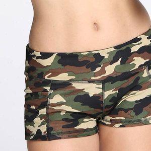 Hot Womens Camouflage Print shorts female Athletic Summer sports shorts women sexy low Waist Mini korte broek dames