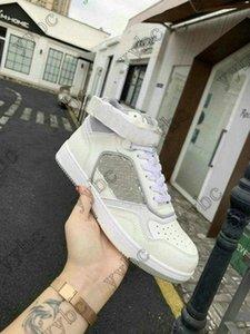 Hombres de alto nivel superior B27 zapatillas de deporte de diseño de mujeres oblicuas de corredor oblicuo zapatos de cordones de cuero