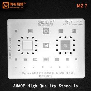 Cell Phone Repairing Tools Exynos 5430 CPU RAM EMMC PM IC POWER WIFI AUDIO CHIP For Meizu MX4 Pro BGA Reballing Stencil Tin Solder Template