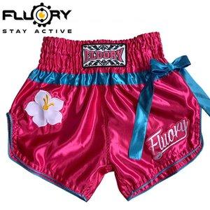 Pantaloncini Fluory Fire Base muay Tailandese sanda Combat Formazione concorrenza Adult Boxing Pantaloni Pantaloni Merdesanti