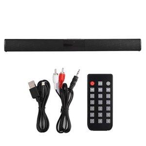 BS-28B Главная Театр Система Wirgle Multi-Function Bluetooth Soundbar Soundbar Soundbar с 4 рогами полного ассортимента / 3,5 мм AUX / RCA Интерфейс для TV