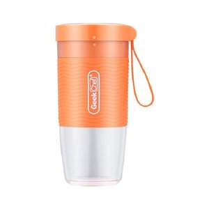 Geek Chef Portable Blender Small Smoothie and Shake Blender Cordless Small Blender Cup, USB Rechargeable BPA-Free Tritan,10oz 300ml, Auto-of