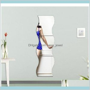 Acrylic Mirror Combination Decorative Mirror Living Room Bathrooms Decoration Decorative Home Decoration Accessories Xe5Eb 43Njd