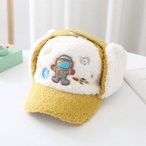 LDSLYJR Winter 2021 Cartoon Casquette Baseball Cap Adjustable Snapback Hats for Children boy and girl 14