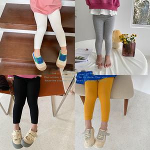 AMBB Fashions Newest INS Spring kids girl pants girl leggings kids cotton leggings children autumn girls cute tights