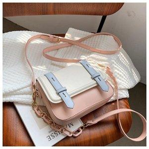 Вечерние сумки мода Satchels сумка для женщин 2021 милая конфета цветной цепь плечевой цепочки мини-сквозь сумки дизайнер лето