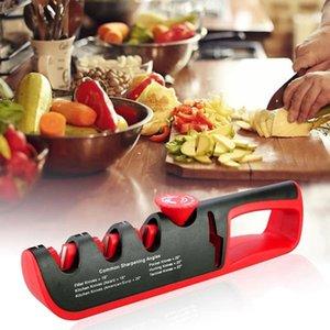 Knife Sharpener Sharpener Grinder In 1 Kitchen Knives Angle Scissors Sharpening 4 Whetstone Professional Adjustable Stone Ixsqe