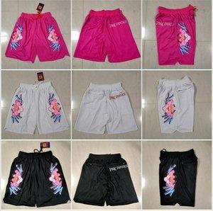 Short de basket Just Don 3 Color Cartoon Panther Sweatpants Sport Zipper Pant Pantalones Cortos De Baloncesto Pantalones Deportivos