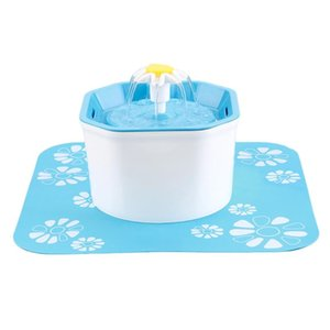 Water Dispenser Cat Fountain, Dog Dispenser, Ultra-Quiet Automatic Drinking Fountains With 1 Mat For Cats Small Dogs Dropshippin