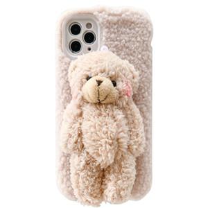 IPhone 11 Case Designer PhoneCase Fashion PhoneCase Bear Muñeca 3D Muñeca Teléfono Móvil Funda para iPhone 11PRO / MAX / XS