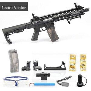 Pistole giocattolo Bambini Fucile CS Giochi di tiro Scatto Electric Safe And Fun AR15 Plastic Model Kit
