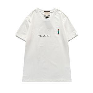 2021 NOUVEAU T-shirt Tee Coton Street Street Skateboard Hommes T-shirt Hommes Femmes manches courtes Tee-shirt occasionnel