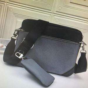 Classic Designer New Fashion Leather Hombre Bolso Hombro con bolsa de embrague Bolso de hombre Bolsas de mensajero casual