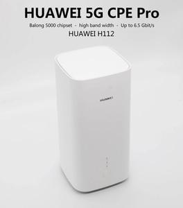 Geniune Unlocked Huawei 5G WiFi جهاز التوجيه اللاسلكي H112-370 NSA + SA 5100MBPS نقطة اتصال موبايل