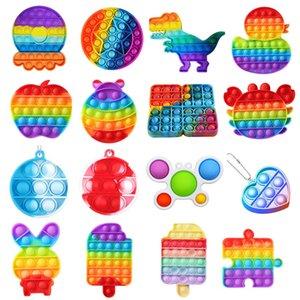 Empuje burbuja sensory fidget juguete autismo blando estrés anhelo juguetes adulto niño animal fidget juguetes dropshipping