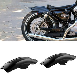 Neues Motorrad schwarzer hinterer hinterer Kotflügel Kotflügel Zubehör für Bobber Racer Motorrad Zubehör Teilerahmen passend Universal