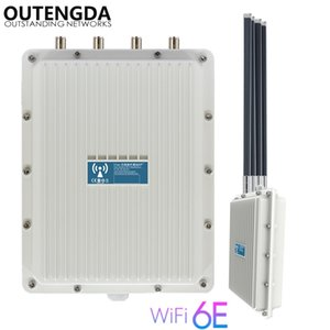 802.11AX WIFI6 Outdoor router wieless access point Dual band 2.4&5.8GHz POE WIFI For farm outside IP67 waterproof AP