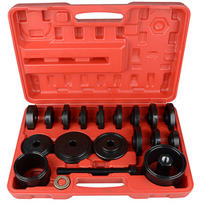 FULL SET NEW 23 pcs Front Wheel Drive Bearing Removal Press Adapter Puller Pulley Tool Kit