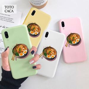 Japanses Ramen Noodles Bowl Soft phone case for iphone 11 Pro Max X XS XR 6S 7 8 plus Cute cover fpr iphone SE 2020 coque