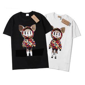 Fashion T Shirts For Men Tops Letter Embroidery T Shirt Mens Womens Clothing Short Sleeved Tshirt Men Tees S-XL b2