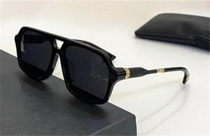 New popular retro men sunglasses BOXLUNCH punk style design retro square frame UV400 lens eyewear top quality with leather box